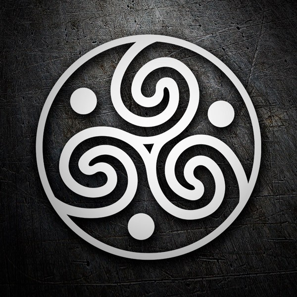 Car & Motorbike Stickers: Symbol Celtic 4