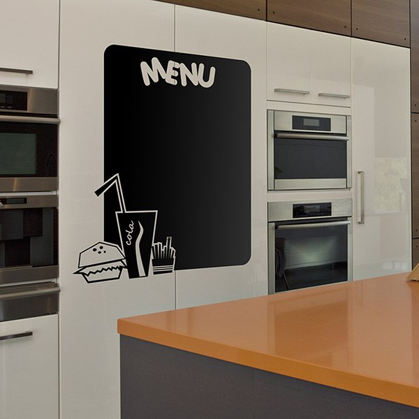 Wall Stickers: Happy Menu