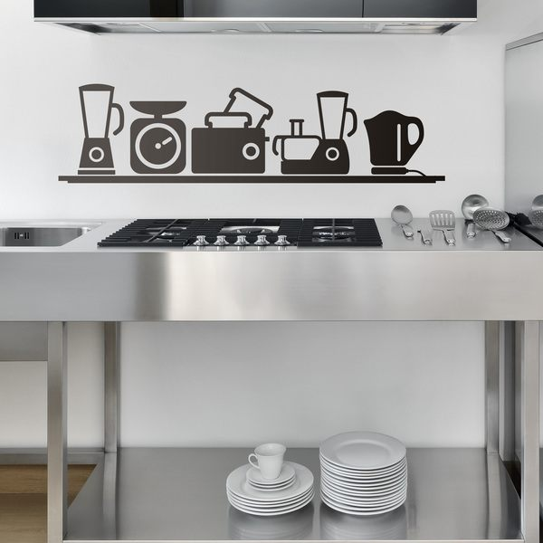Wall Stickers: small appliances