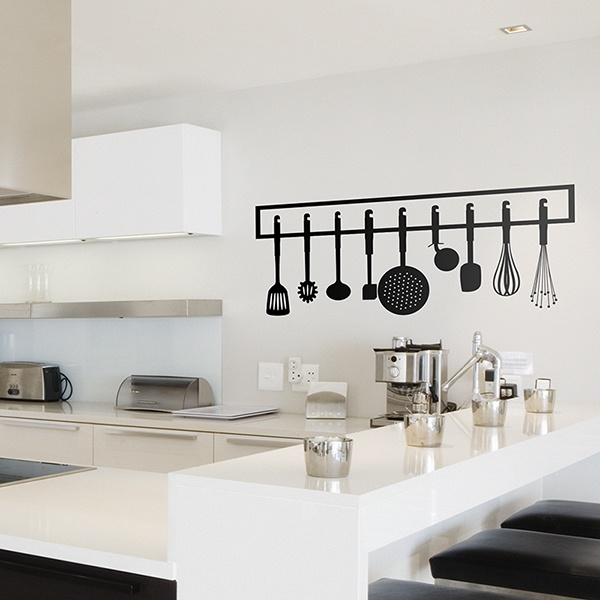 Wall Stickers: Cooking equipment