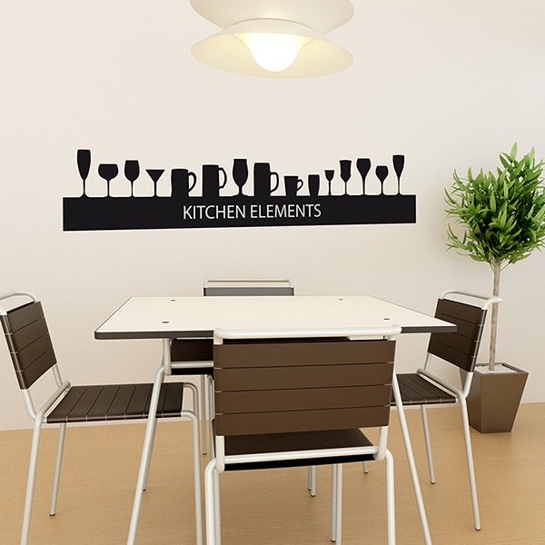 Wall Stickers: glass