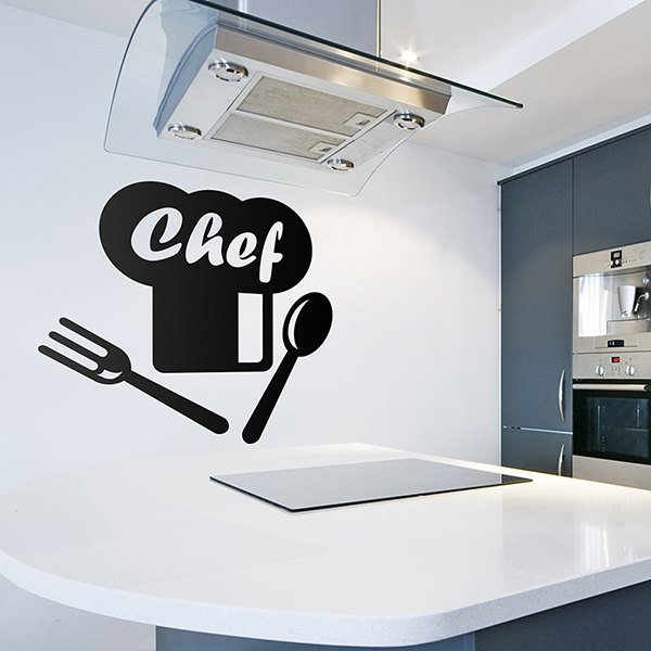 Wall Stickers: Classic Chef