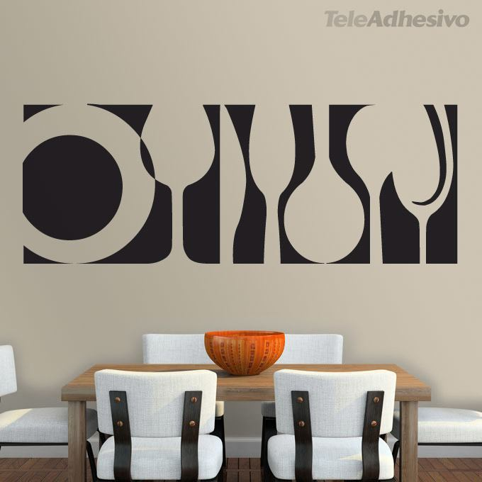 Wall Stickers: Tableware