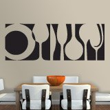 Wall Stickers: Tableware 2