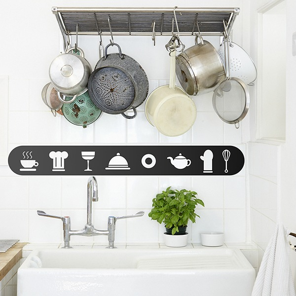 Wall Stickers: Elements of the chef