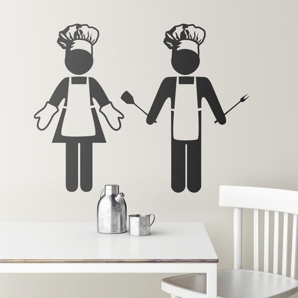 Wall Stickers: Chefs