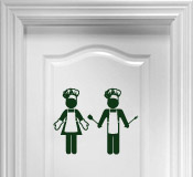 Wall Stickers: Chefs 2