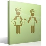 Wall Stickers: Chefs 4