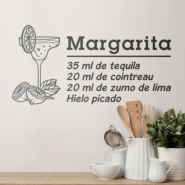 Wall Stickers: Cocktail Margarita - spanish