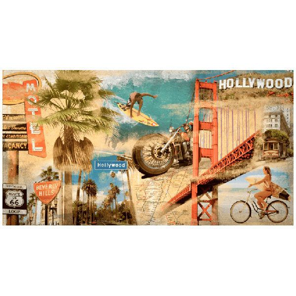Wall Murals: Collage California