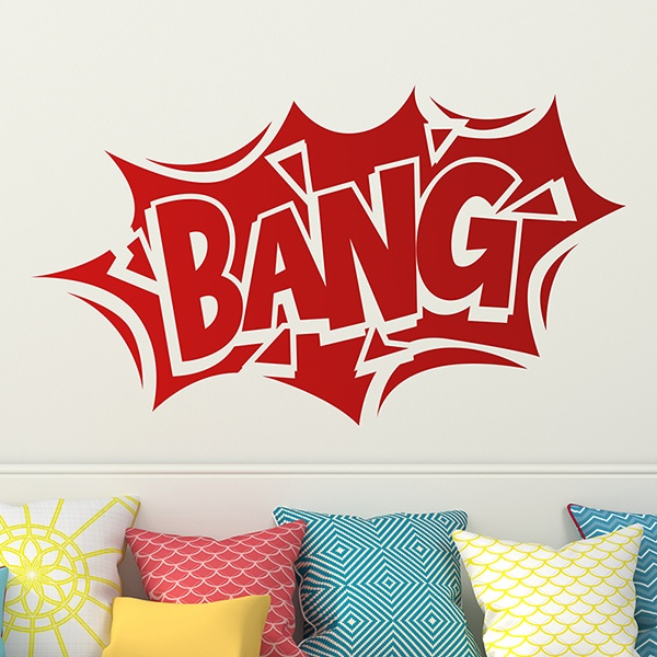 Stickers for Kids: Comic Bang 02