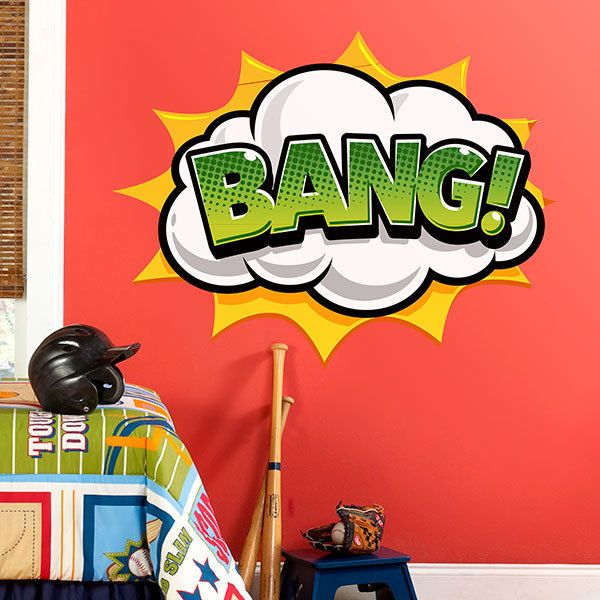 Wall Stickers: Comic BANG!