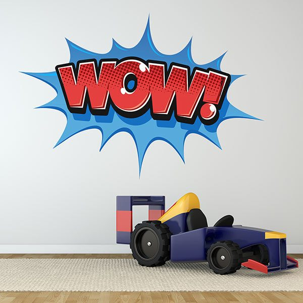 Wall Stickers: Comic WOW!