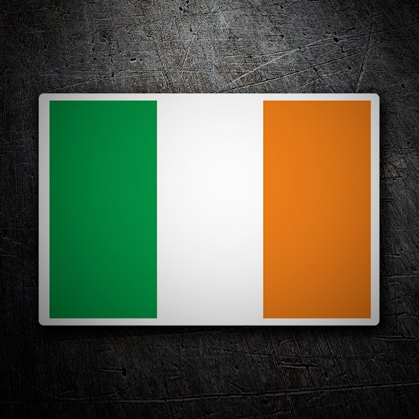 Car & Motorbike Stickers: Eire