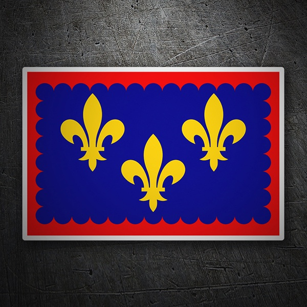 Car & Motorbike Stickers: Flag Berry