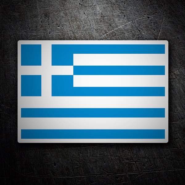 Car & Motorbike Stickers: Greece