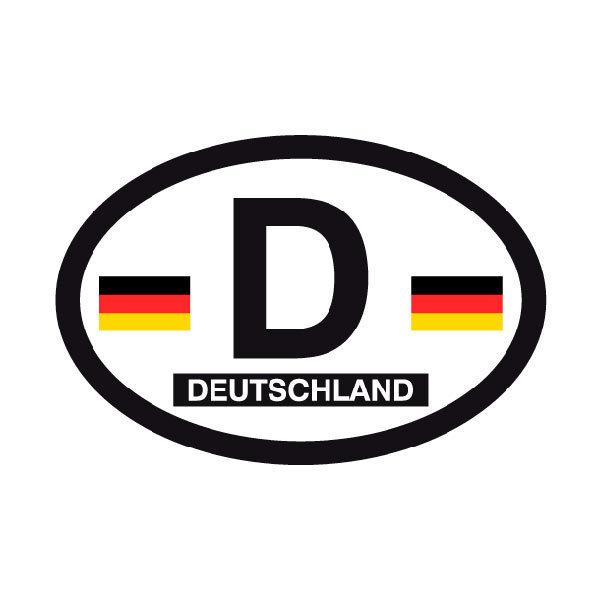 CafePress Germany Car Sticker 515808388 Oval Sticker Hamburg Variant