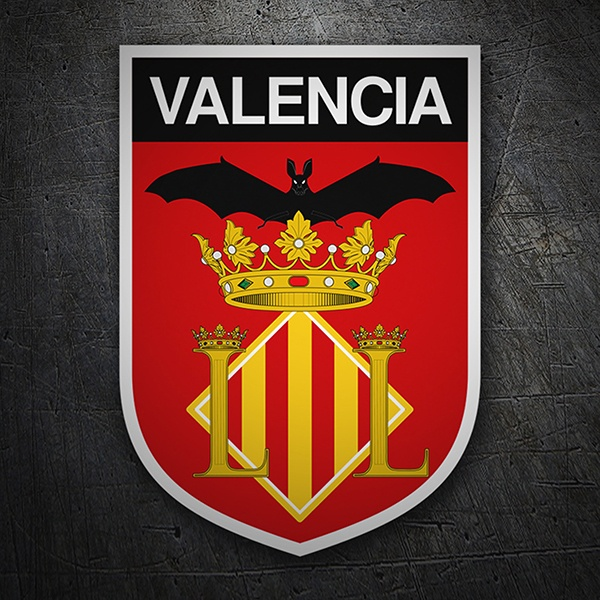 Car & Motorbike Stickers: Badge Valencia