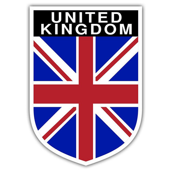 Car & Motorbike Stickers: United Kingdom