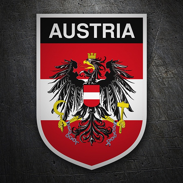 Car & Motorbike Stickers: Badge Austria