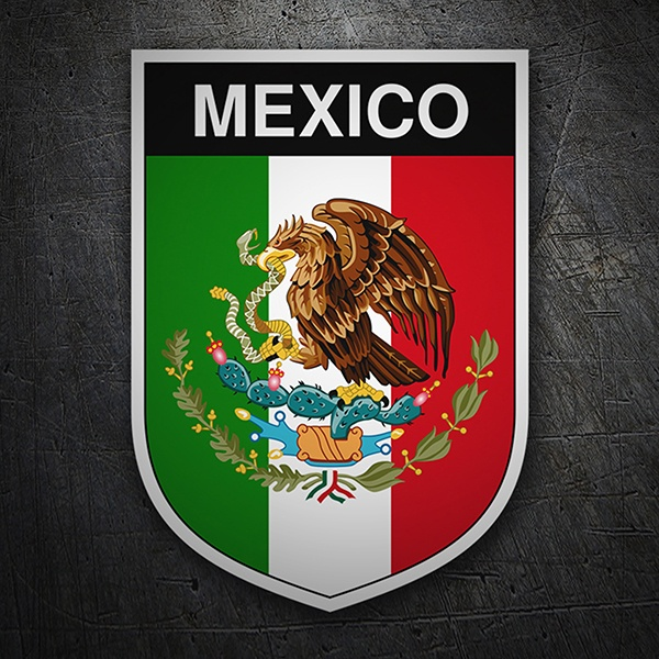 Car & Motorbike Stickers: Badge Mexico