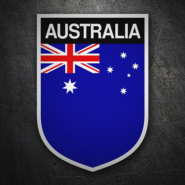 Car & Motorbike Stickers: Badge Australia