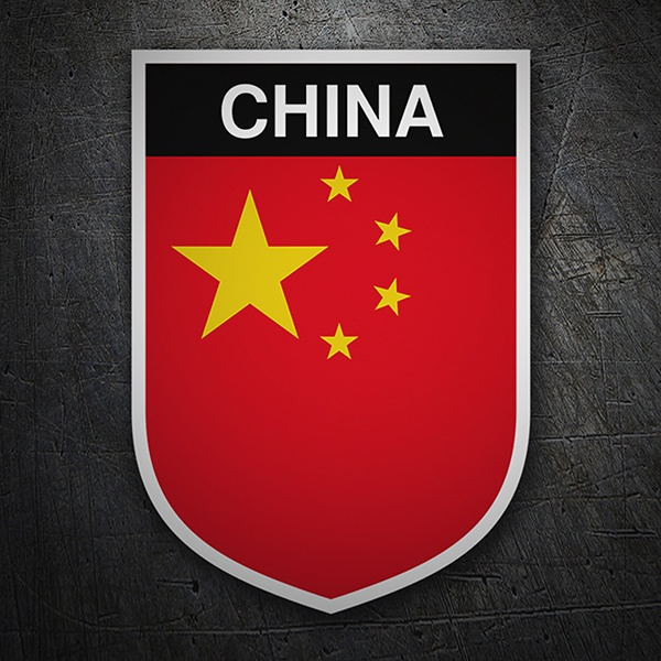 Car & Motorbike Stickers: Badge China