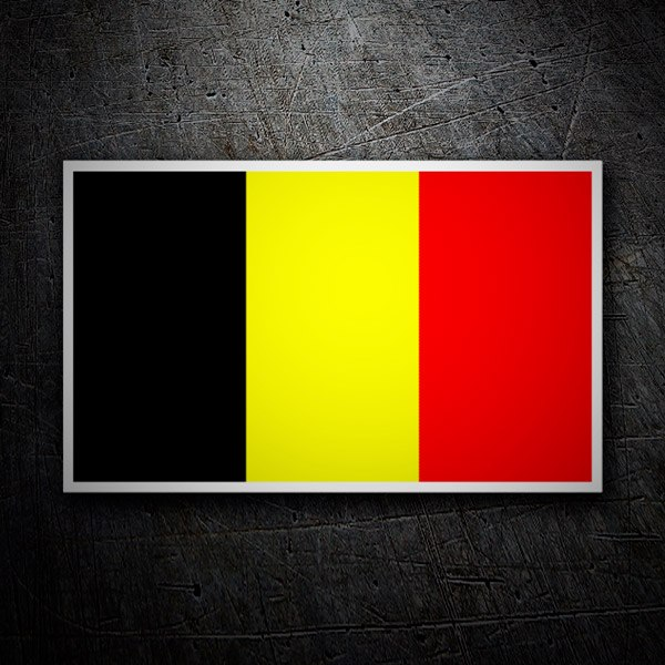 Car & Motorbike Stickers: Belgique