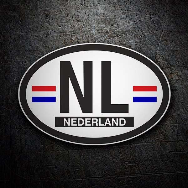 Car & Motorbike Stickers: Nederland