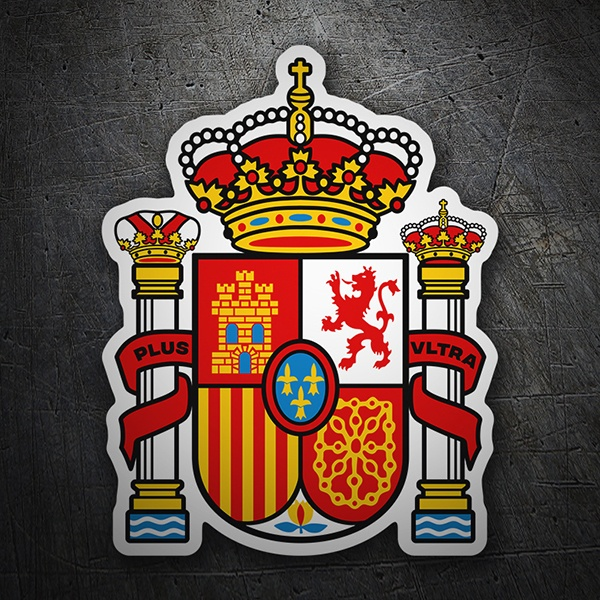 Car & Motorbike Stickers: Spain Badge