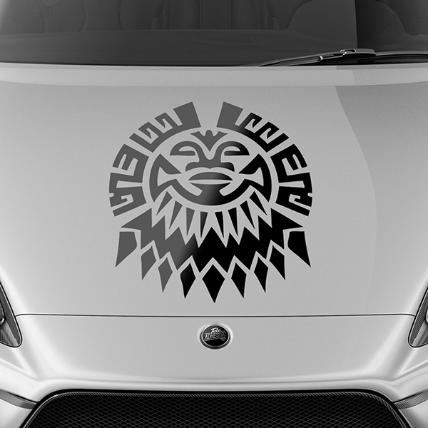 Car & Motorbike Stickers: Tribal 07