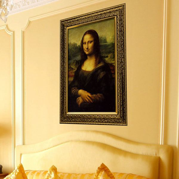 Wall Stickers: Picture of the Mona Lisa