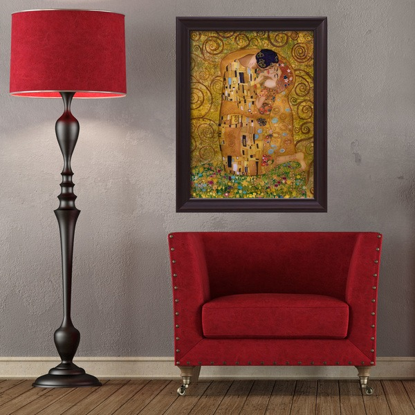 Wall Stickers: Picture Klimt's kiss