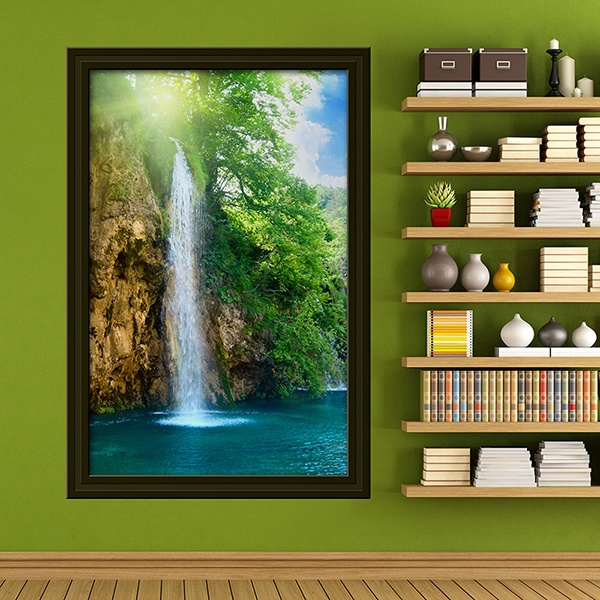 Wall Stickers: Picture Natural paradise