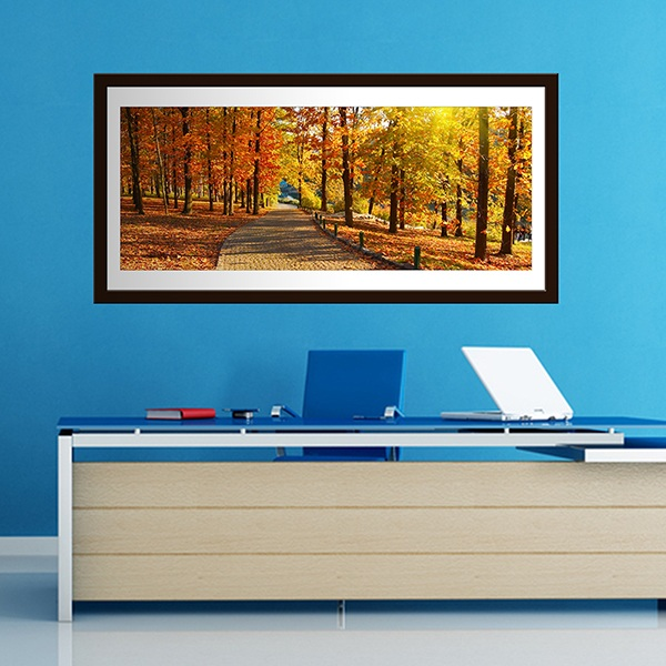 Wall Stickers: Picture Fall in the Park