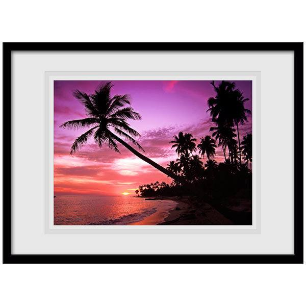 Wall Stickers: Picture Caribbean sunset