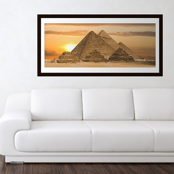Wall Stickers: Picture Pyramids of Giza