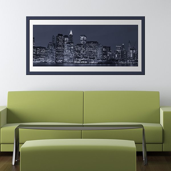 Wall Stickers: Picture Manhattan