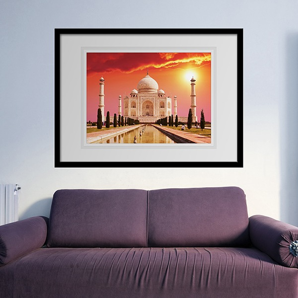 Wall Stickers: Picture Taj Mahal
