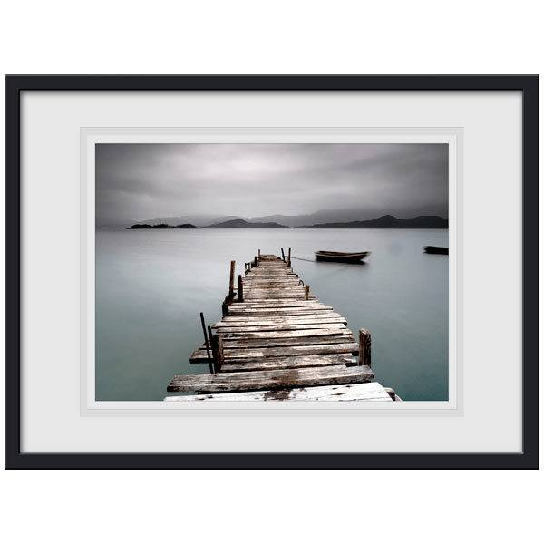 Wall Stickers: Picture of a wharf