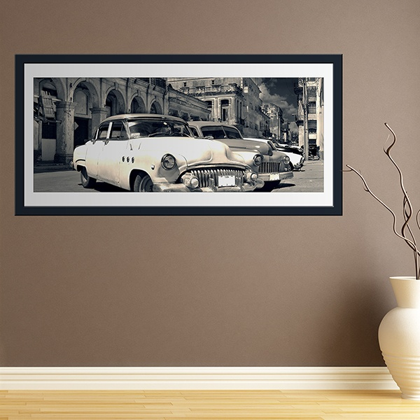 Wall Stickers: Picture Cars in Havana