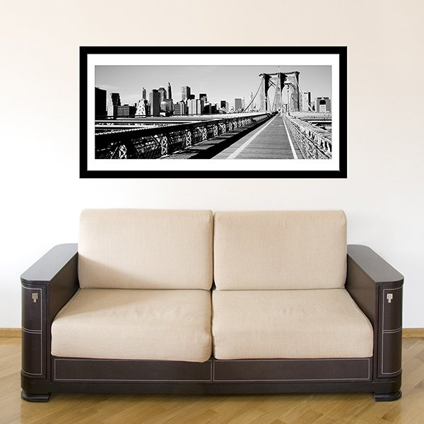 Wall Stickers: Picture Brooklyn Bridge