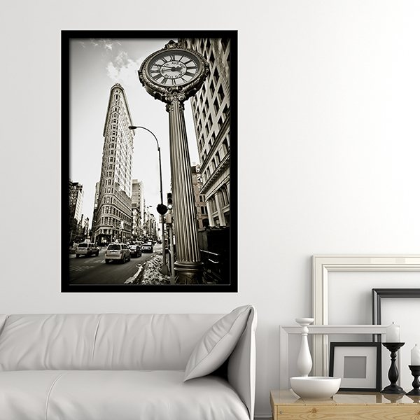 Wall Stickers: Picture Flatiron Building