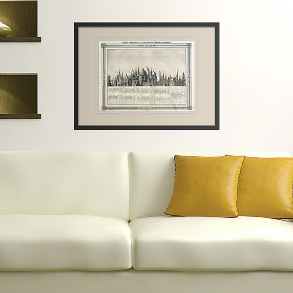 Wall Stickers: Picture Hauter Monuments