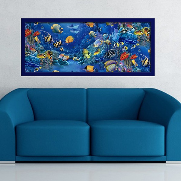 Wall Stickers: Picture Seabed