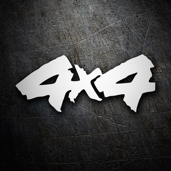 Car & Motorbike Stickers: 4x4 graffiti