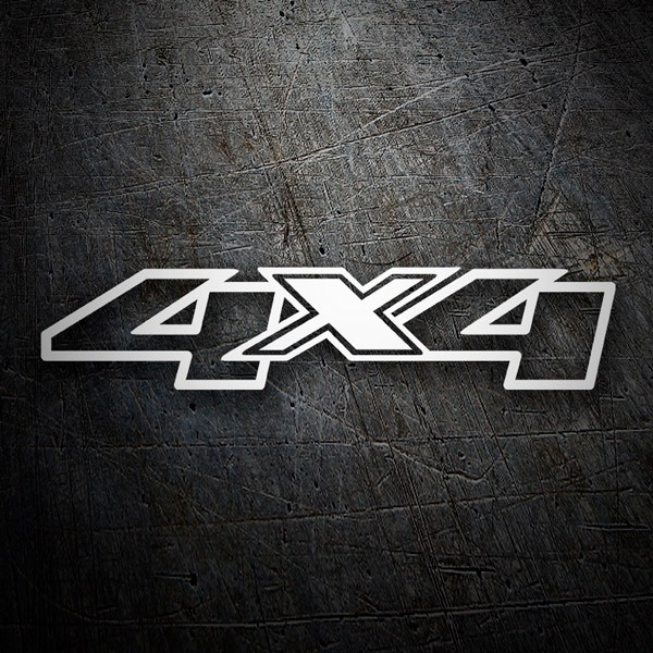 Car & Motorbike Stickers: 4x4 edge color