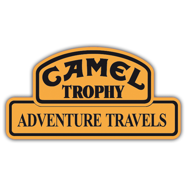 Car & Motorbike Stickers: Camel Adventure Travels 0