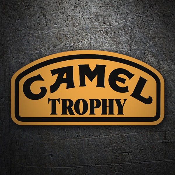 Car & Motorbike Stickers: Camel Trophy