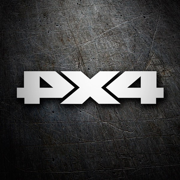 Car & Motorbike Stickers: Symmetrical 4x4